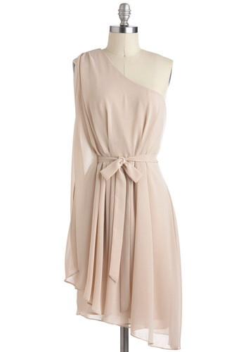 Champagne Soiree dress, from modcloth.com