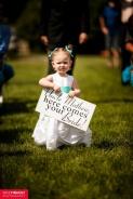 Cute flower girl sign