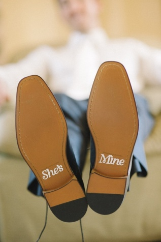 Cute idea for the groom