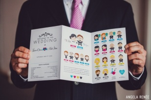 Cute order of service programmes