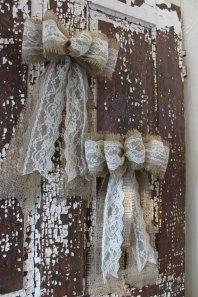 Decorative bows, by bowsmadebyash on etsy.com