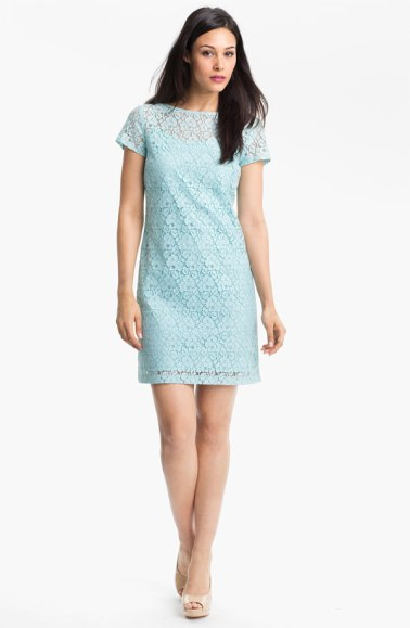 Donna Morgan Lace Shift Dress, on nordstrom.com