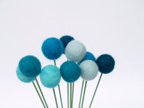 Felt balls, by Fairyfolk on etsy.com