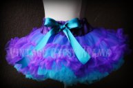 Flower girl tutu, by VintageGypsyMama on etsy.com