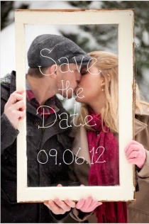 Great save the date idea