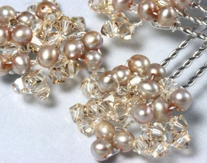 Hair accessories, by LizardiBridal on etsy.com