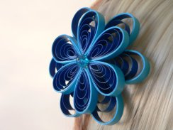 Hair accessory, by MiaettiaCreations on etsy.com