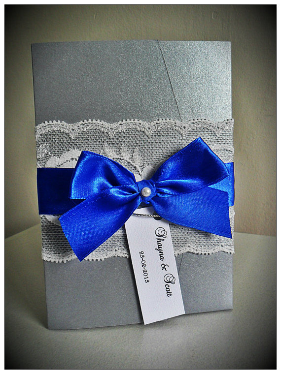 Cobalt Blue And Silver Wedding Inspiration The Merry Bride