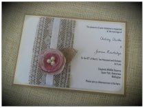 Invitation, by VintageCraftsNZ on etsy.com