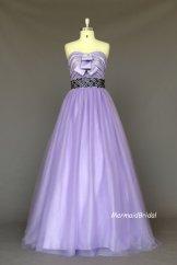Lavender wedding dress, by MermaidBridal on etsy.com
