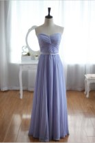 Lavender wedding dress, by wonderxue on etsy.com
