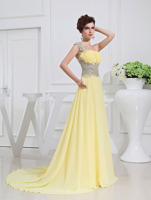 Lemon yellow wedding dress by lemonweddingdress on etsy for Yellow dresses for weddings