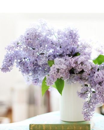 Lilac centrepiece