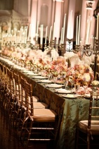Marie Antoinette wedding theme!