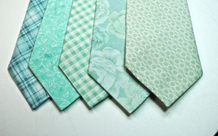 Men's ties, by tuxandtulle on etsy.com