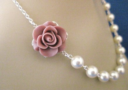 Necklace, by AnnsCrafts on etsy.com