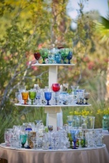 Pick your own glass...what a nice idea!