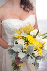 Pretty yellow bouquet