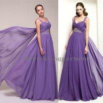 Purple wedding dress, by Myweddinggarment on etsy.com