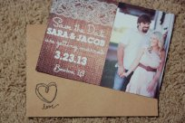 Save the date cards, by AestheticJourneys on etsy.com