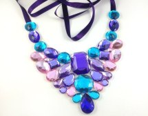 Statement necklace, by BienBijou on etsy.com