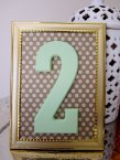 Table numbers, by TheGarrettGroup on etsy.com