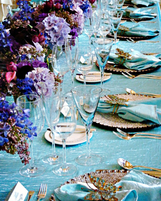 Purple And Turquoise Wedding Inspiration