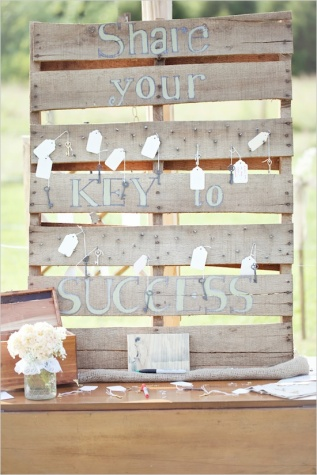 Wedding advice board