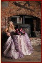 Wedding dress, by ZoeFrancesDesigns on etsy.com
