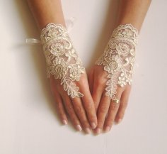 Wedding gloves, by GlovesShop on etsy.com