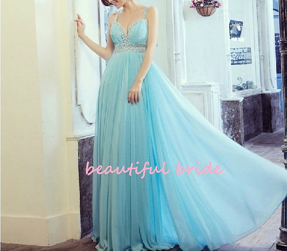 Champagne and ice blue wedding inspiration the merry bride for Ice blue wedding dress