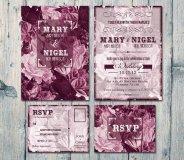 Wedding Invitation, by WeddingSundae on etsy.com