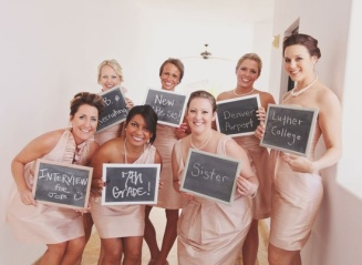 Where did you meet the bride? Great photo idea