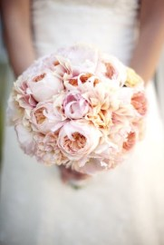 Beautiful blush bouquet
