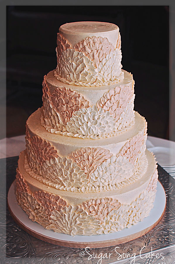 ivory and blush pink wedding cakes blush and ivory wedding inspiration the merry 16535