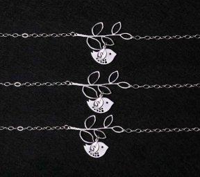 Bridesmaid bracelets, by tyrahandmadejewelry2 on etsy.com