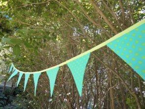 Bunting, by MariaClaireInteriors on etsy.com