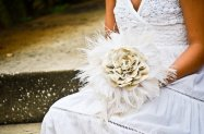 Feather bouquet, by ColorOfmay on etsy.com
