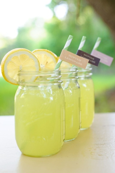 Idea for post-ceremony drinks for the guests