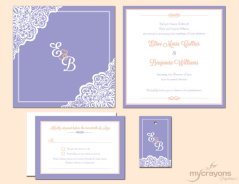 Invitation, by MyCrayonsPapeterie on etsy.com