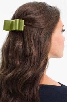 L. Erickson 'Wide Couture Bow' Barrette, from nordstrom.com