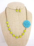 Necklace and earring set, by kbjhandmade on etsy.com
