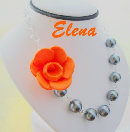 Necklace, by ElenaLimitedEdition on etsy.com