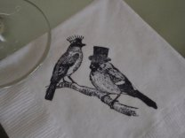 Paper napkins, by CharlestonCharms on etsy.com