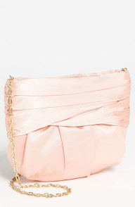 Peach clutch, from nordstrom.com