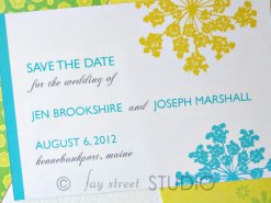 Save the date, by faystreetstudio on etsy.com