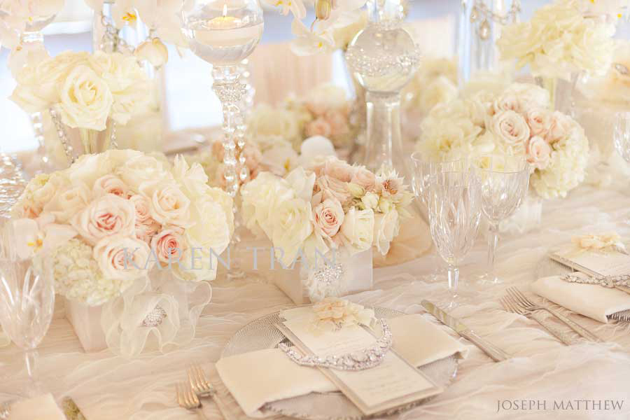 Цвет свадьбы розовый и айвори
