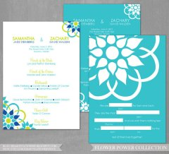 Wedding ceremony programs, by iheartstationeryshop on etsy.com