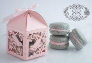 Wedding favours - box and macarons, by SplendidSweetShoppe on etsy.com