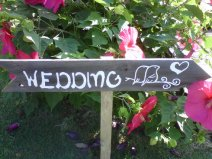 Wedding sign, by TRUECONNECTION on etsy.com